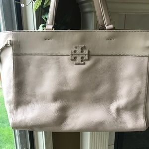 Tory burch stacked t extra large tote
